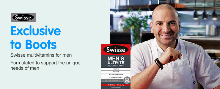 Swisse multivitamins for men