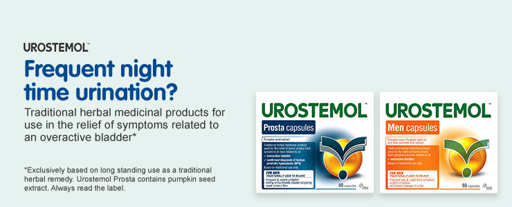 Urostemol. Frequent night time urination?