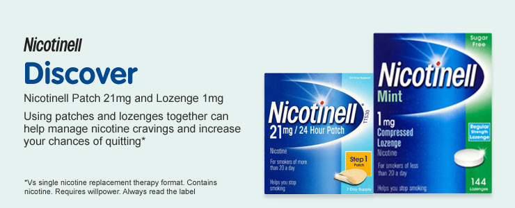 Discover Nicotinell Patch and Lozenge