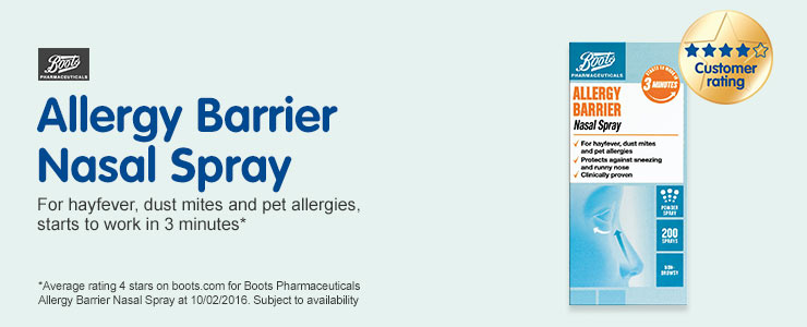 Allergy Barrier Nasal Spray