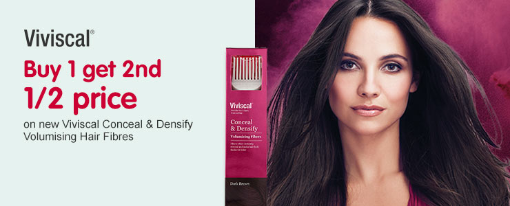 3 for 2 on Viviscal haircare No.1 hair growth supplement in the US
