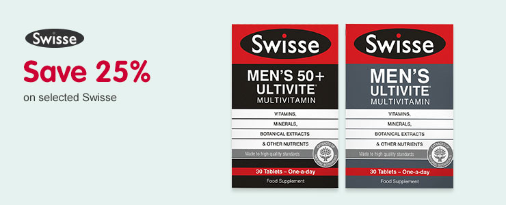 Save 25% on selected Swisse