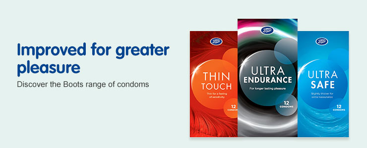The Improved Boots Condoms Range