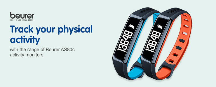 Beurer AS80c - Track your physical activity