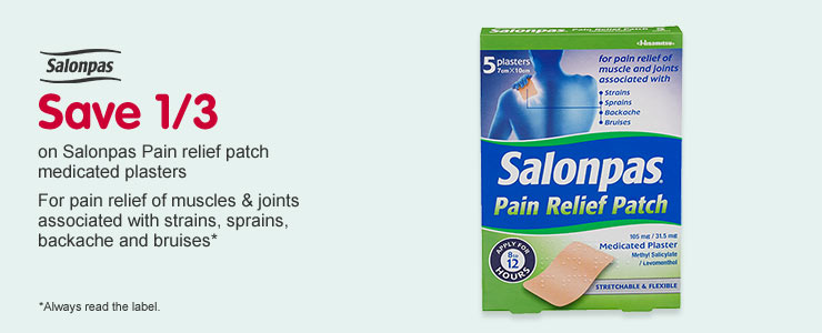Save a third on Salonpas