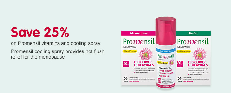 Save 25 percent on Promensil