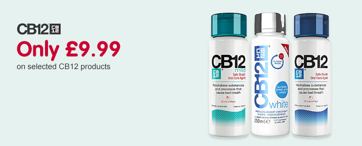 Only £9 on selected CB12 products