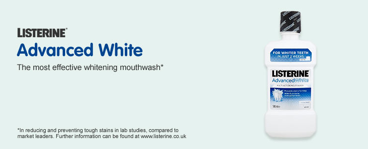 Listerine - Advanced White