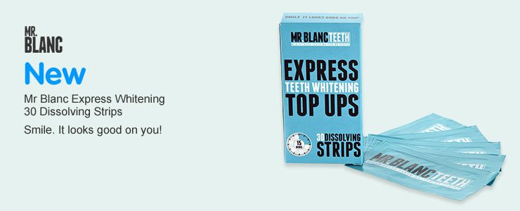 NEW - Mr. Blanc Express Dissolving Strips