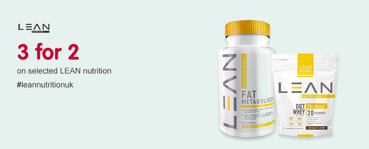 3 for 2 on selected Lean Nutrition