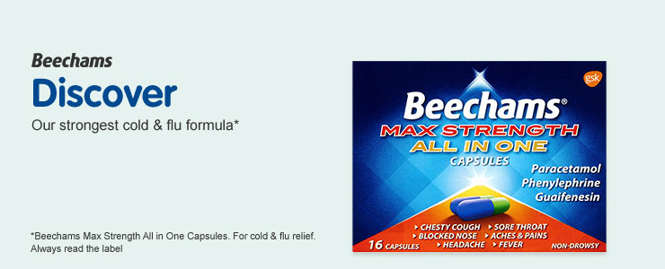 Beechams strongest cold and flu formula