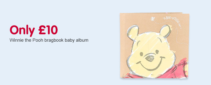 Only £10 on Winnie the Pooh Bragbook Baby Album