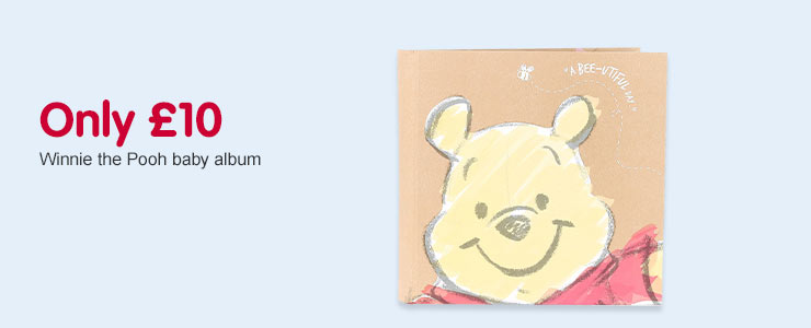 Only £10 on Winnie The Pooh baby album