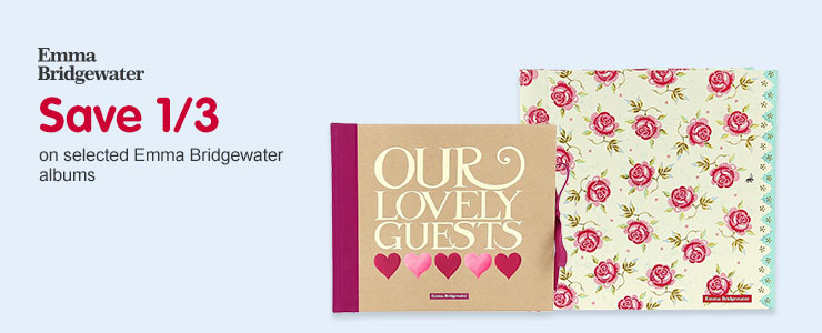 Save 1/3 on selected Emma Bridgewater albums
