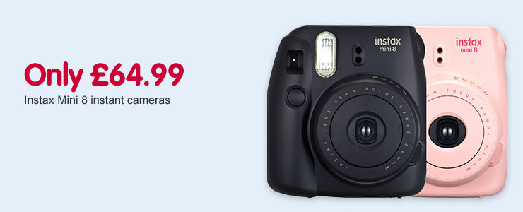 Instax cameras only £64.99