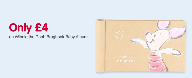 Only £4 on Winnie the Pooh Bragbook Baby Album