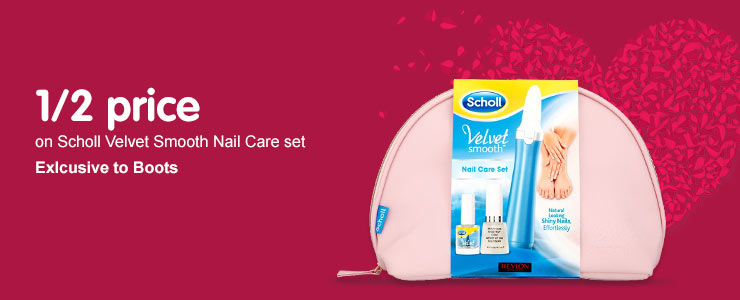 half price on selected scholl gift sets