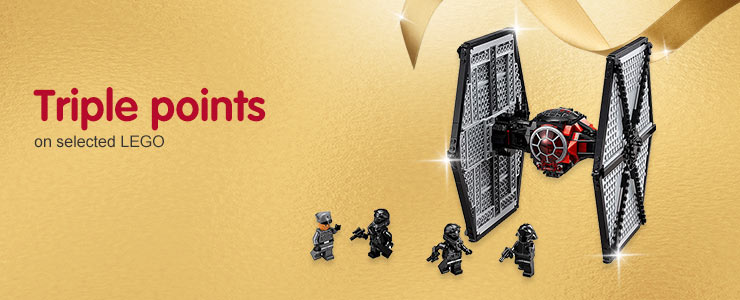 Triple Points on selected LEGO