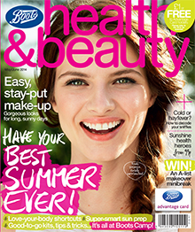 Pick up a copy of our Health & Beauty Mag in your local Boots store