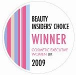 Beauty Insiders' Choice 2009 Winner