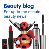 Beauty blog. For up-to-the-minute beauty news.