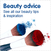 Beauty advice. See all our beauty tips and inspiration.