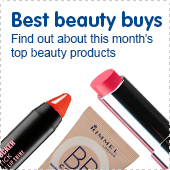 Best beauty buys. Find out about this month's top beauty products.