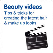 Beauty videos. Watch our how-to beauty videos.
