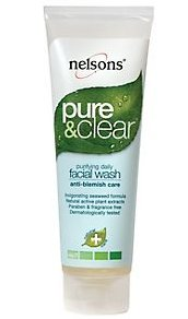 Nelsons Pure & Clear Anti-Blemish Facial Wash - 125ml