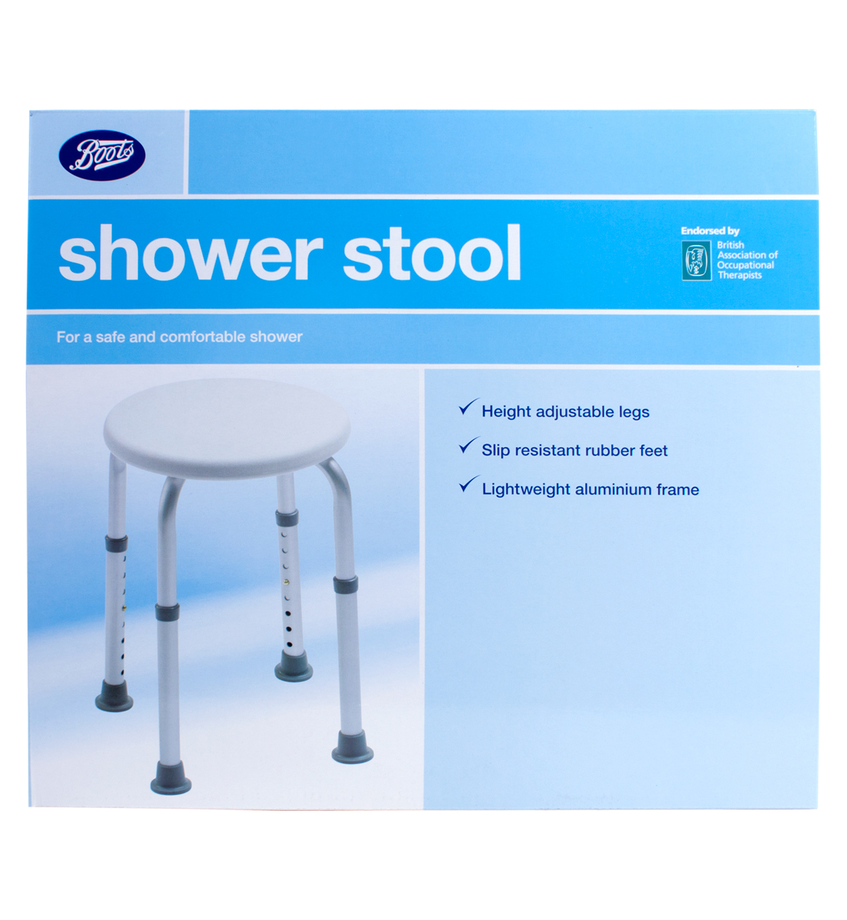 Boots shower stool