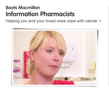 Boots Macmillan Information Pharmacist