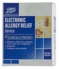 Boots Pharmaceuticals Allergy Relief Device