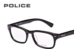 Police designer glasses and sunglasses