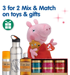 3 for 2 mix & match on selected toys & gifts