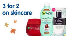 3 for 2 skincare