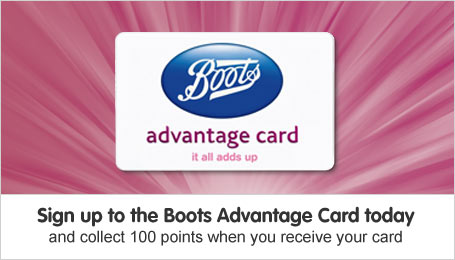 Sign up to Advantage Card and receive 100 points