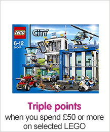 Triple Points when you spend £50 or more on selected Lego