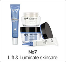 No7 Lift & Luminate Range