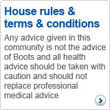 House rules & terms & conditions
