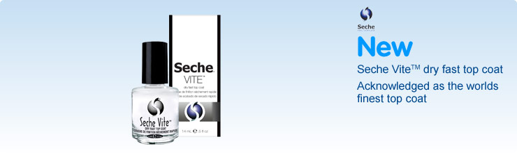 Seche Vite acknowledged as the worlds finest top coat
