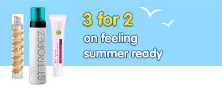3 for 2 on feeling summer ready
