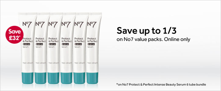 Great offers on selected No7 bundles