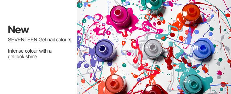 New Seventeen Gel Nail Colours