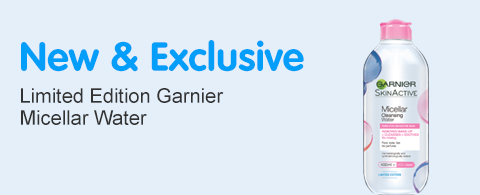 New and Exclusive Garnier Micellar Limited Edition Pack