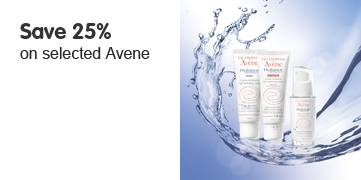 Save 25% on selected Avene