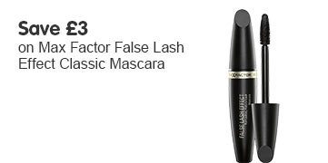 Save three pounds on Max Factor false lash effect classic