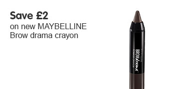 Save two pounds on new Maybelline Brow Drama crayon