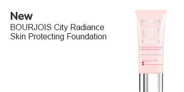 New Bourjois City Radiance Skin Protecting Foundation