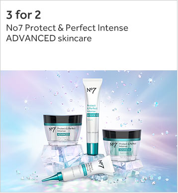 3 for 2 on No7 protect and perfect intense advanced