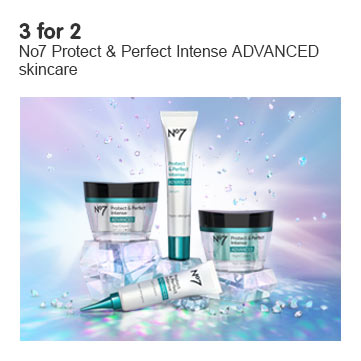 three for two on number seven protect and perfect advanced serum